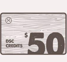 $50 DSC E-Gift Card