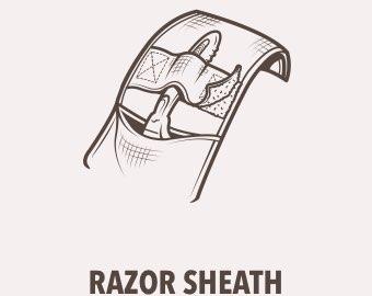 Razor Sheath image and title