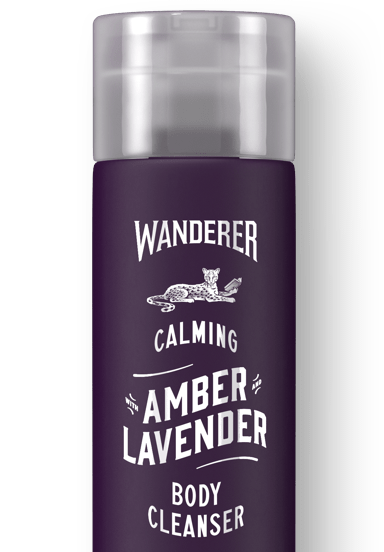 Calming Amber & Lavender Body Cleanser