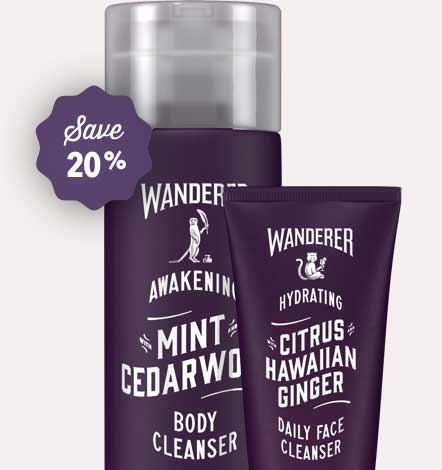 Calming Body Cleanser, Face Cleanser